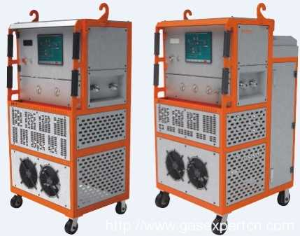 RF-051 Series SF6 Gas Recycling Device Touch screen Operation