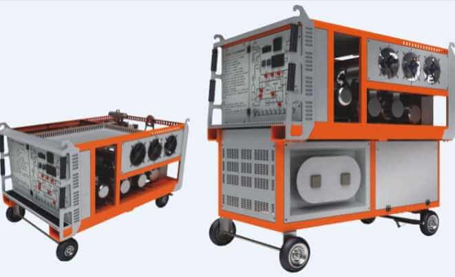RF-391-Series-SF6-Gas-Recycling-Device-Button-Operation